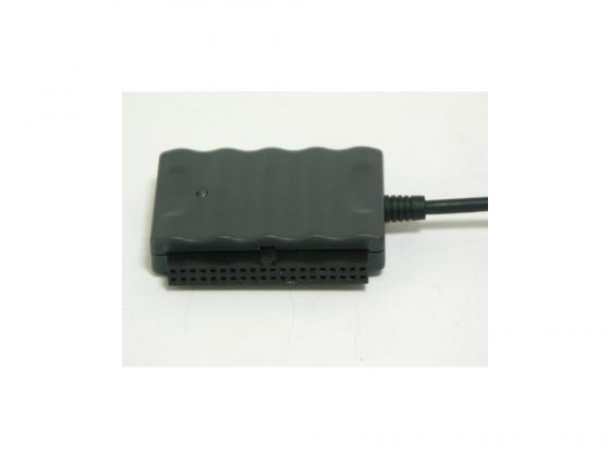 """Адаптер-переходник AgeStar USB 2.0 - 1.8""""/2.5""""/3.5""""/5.25"""" IUBCP черный + внешний блок питания цена и фото"""