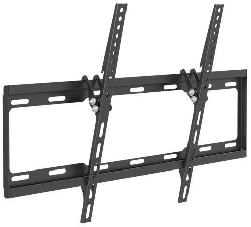 Кронштейн ARM Media STEEL-2 черный для LED/LCD ТВ 26-70 настенный 1 ст свободы от стены 25мм наклон 0°-14° VESA 600x400 до 40кг кронштейн mart 101s черный для 10 26 настенный от стены 18мм vesa 100x100 до 25кг