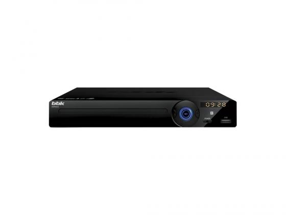 Проигрыватель DVD BBK DVP034S караоке черный/темно-серый