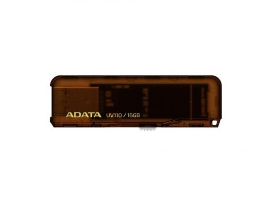 Флешка USB 16Gb A-Data UV110 AUV110-16G-RBL голубой usb накопитель 32gb adata auv110 голубой auv110 32g rbl
