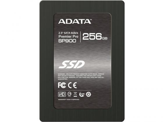 "Твердотельный накопитель SSD 2.5"" 256Gb A-Data SP900 Read 550Mb/s Write 520Mb/s SATAIII ASP900S3-256GM-C жесткий диск 256gb a data premier pro sp900 sata 2 5 asp900s3 256gm c"
