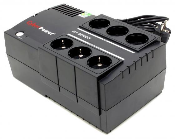ИБП CyberPower 650VA BS650E черный ибп cyberpower 650va 360w ut650ei черный