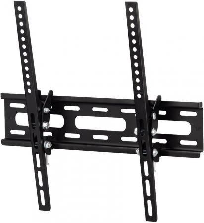 Кронштейн HAMA H-108716 XL черный для ЖК ТВ 23 - 50 настенный наклон 20° VESA 400x400 до 30 кг кронштейн hama h 118104 черный для жк тв до 32 65 настенный фиксированный vesa 400x400 до 35кг