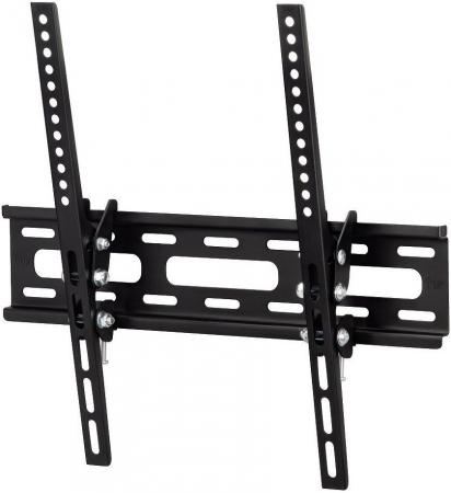 Кронштейн HAMA H-108716 XL черный для ЖК ТВ 23 - 50 настенный наклон 20° VESA 400x400 до 30 кг кронштейн для тв hama h 108771 xl