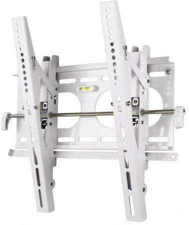 Кронштейн HAMA H-84472 L белый для ЖК ТВ от 23 до 42 настенный VESA 400x400 до 50кг кронштейн hama h 118104 черный для жк тв до 32 65 настенный фиксированный vesa 400x400 до 35кг
