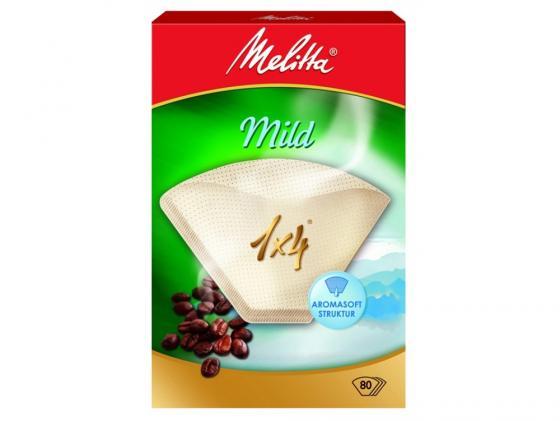 Фильтры бумажные Melitta Courmet Mild белый 1х4/80шт(208845) стоимость