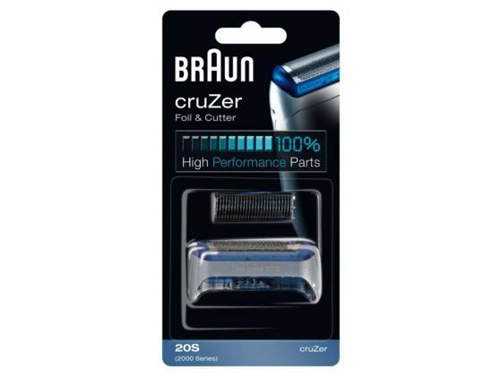 Сетка Braun 20S CruZer для бритвы Braun 2000 серии серый braun 20s
