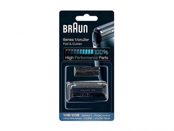 Сетка и режущий блок Braun Series1 10B/20B аксессуар сетка и режущий блок braun series 1 10b