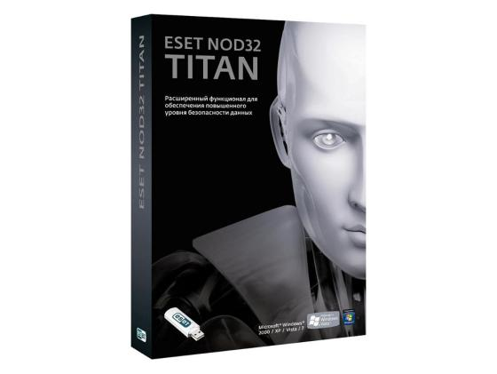 Антивирус ESET NOD32 TITAN на 1год/3ПК и 1 мобильное устройство NOD32-EST-NS(BOX2)-1-1 по eset nod32 nod32 mobile security 3 устройства 1 год base box nod32 enm2 ns box 1 1