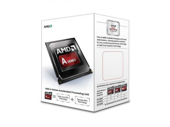 Процессор AMD A4 X2 6300 AD6300OKHLBOX Socket FM2 BOX