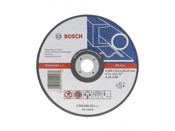 Отрезной круг Bosch 125х2.5мм по металлу отрезной круг bosch 300х25 4мм 2608623012 по дереву