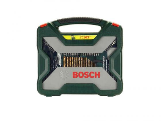 Набор бит и сверел Bosch X-Line-103 набор бит и сверел bosch x line 50 ti