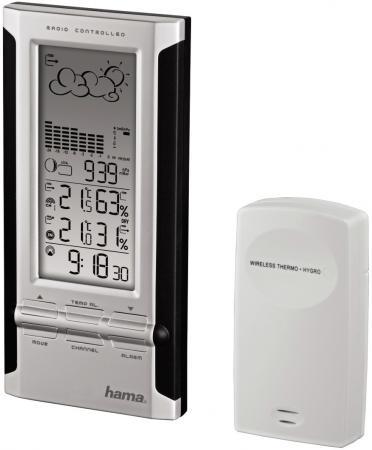 Метеостанция Hama H-104932 EWS-380 черный-серебристый стоимость