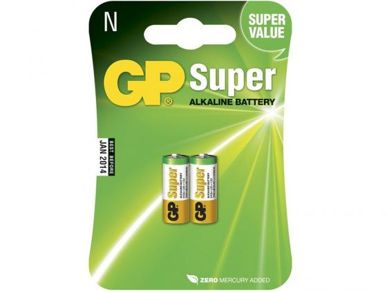 Батарейки GP Super Alkaline 910A-2CR2 LR1 2 шт