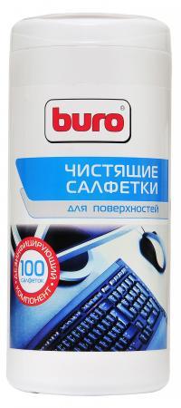 Фото - Влажные салфетки BURO BU-Tsurface 100 шт buro