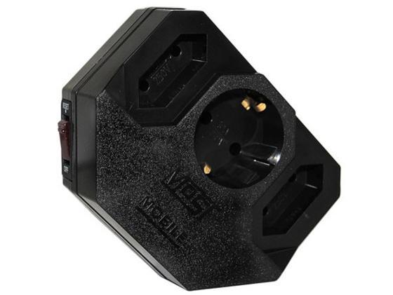 цена на Сетевой фильтр MOST Mobile MRG 3 розетки черный