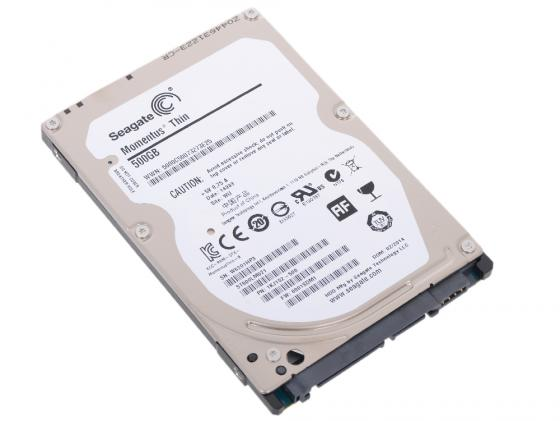 Жесткий диск для ноутбука 2.5 500Gb 7200rpm 32Mb cache Seagate Momentus SATAIII ST500LM021 st500lm021