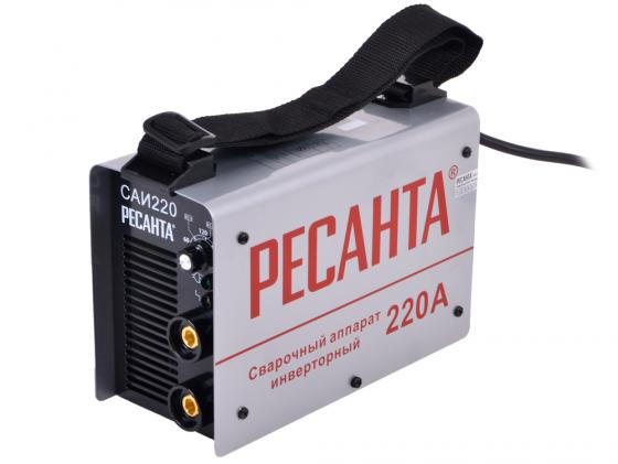 Аппарат сварочный Ресанта САИ 220 65/3 сварочный аппарат ресанта саи 250к компакт 65 38