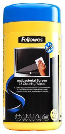 Влажные салфетки Fellowes FS-22117 100 шт CRC22117 fellowes fs 99715 салфетки для любых поверхностей 100 шт