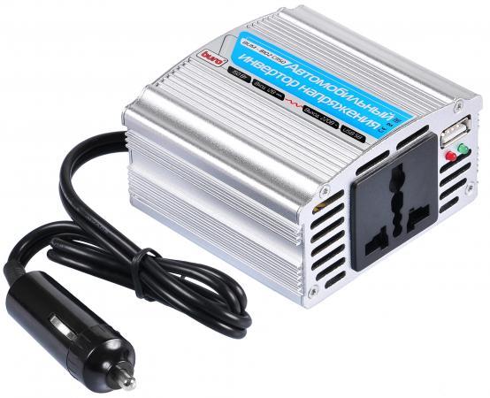 Автомобильный инвертор напряжения Buro BUM-8102CI150 150Вт автомобильный инвертор напряжения belkin f5c412eb300w
