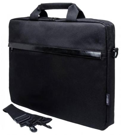 Cумка для ноутбука 15.6 PC Pet PCP-1002BK полиэстер черный 726542 сумка для ноутбука pc pet pcp a9015bk