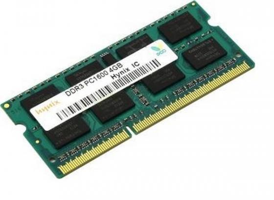 Оперативная память для ноутбуков SO-DDR3 4Gb PC12800 1600MHz Hynix оперативная память hynix hmt451u6dfr8a pbn0