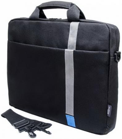 Сумка для ноутбука 15.6 PCPet PCP-1001BL полиэстер черный