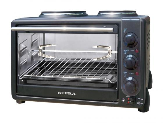 Мини-печь Supra MTS-342 черный мини печь supra mts 342 white