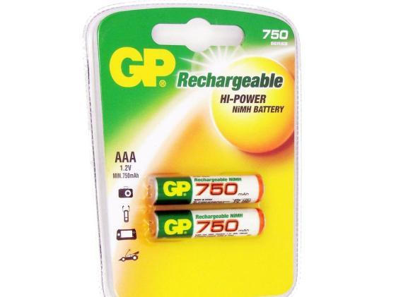 Аккумулятор 750 mAh GP GP75AAAHC-2CR2 AAA 2 шт big bad bubble