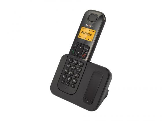 Радиотелефон DECT Texet TX-D6605А черный радиотелефон dect texet tx d6705a черный
