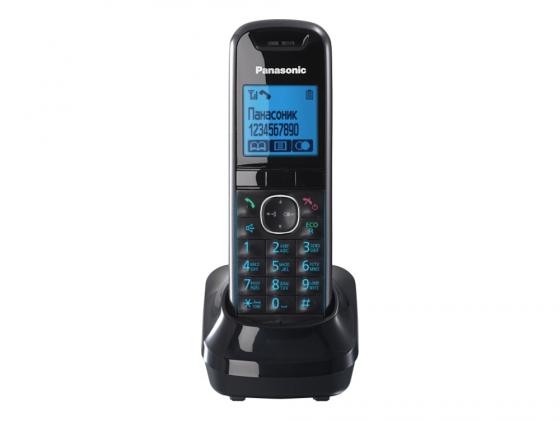 Дополнительная трубка Panasonic KX-TGA681RUB черный для KX-TGA68xx радиотелефон panasonic kx tg8551 черный kx tg 8551 rub
