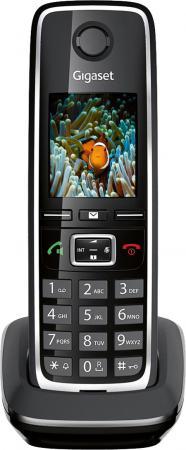 Дополнительная трубка Gigaset C530 H черный телефон gigaset c530