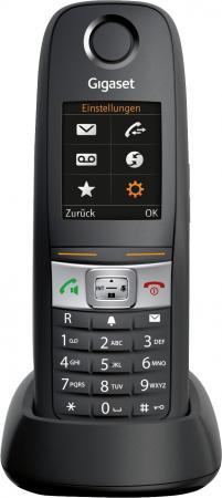 Дополнительная трубка Gigaset E630H черный телефон dect gigaset l410 устройство громкой связи