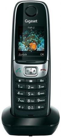 Дополнительная трубка Gigaset C620H черный телефон dect gigaset l410 устройство громкой связи