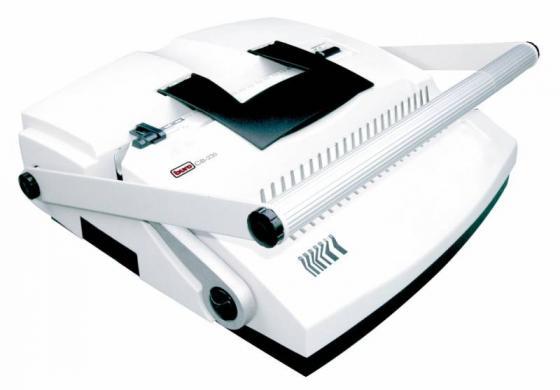 Брошюровщик Buro BU-CB230 профи вертикальная перфорация на механические пружины 6-51мм перфорирует до 20 листов переплетает до 500 листов  цена и фото