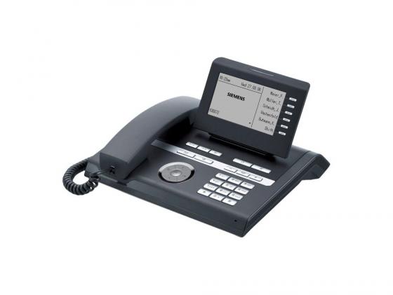 Телефон IP Siemens Unify OpenStage 40 SIP голубой L30250-F600-C108 телефон проводной gigaset openstage 40 t lava black