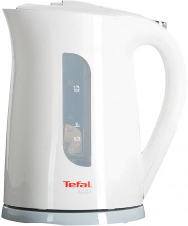 Чайник Tefal KO 270130 Aqua 2400 Вт белый 1.7 л пластик чайник tefal ko 29913e 2200 вт 1 5 л пластик белый