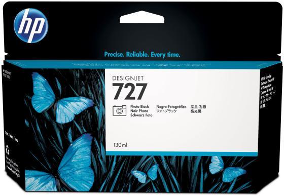 Картридж HP B3P23A №727 для HP Designjet T920/T1500 ePrinter series фото черный 130мл цена