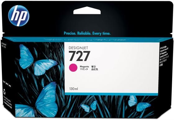 Картридж HP B3P20A №727 для HP Designjet T920 T1500 ePrinter series 130мл пурпурный картридж hp b3p20a 727 magenta для designjet t920 t1500 130ml