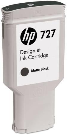 Картридж HP C1Q12A №727 для HP Designjet T920 T1500 T2500 300мл черный матовый цена