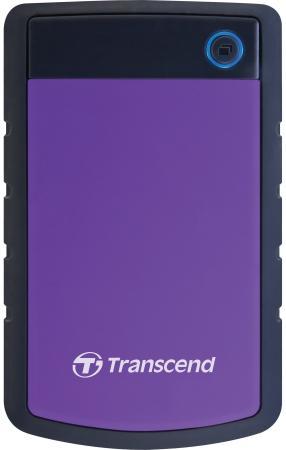 """Внешний жесткий диск 2.5"""" USB3.0 2Tb Transcend TS2TSJ25H3P черно-фиолетовый все цены"""