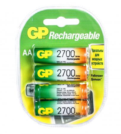 Аккумулятор 2700 mAh GP 270AAHC-2CR4 AA 4 шт аккумулятор 2300 mah gp 230aahc 2cr4 aa 4 шт