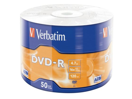 Диски DVD-R Verbatim 16x 4.7Gb Wrap Spindle 50шт 43788 free shipping 0 5kw air cooled spindle motor er11 chuck 500w spindle dc motor