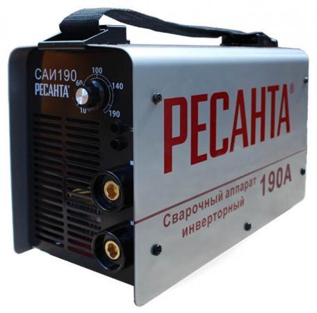 Аппарат сварочный Ресанта САИ 190 инверторный 65/2 аппарат сварочный ресанта саи 160к 65 35