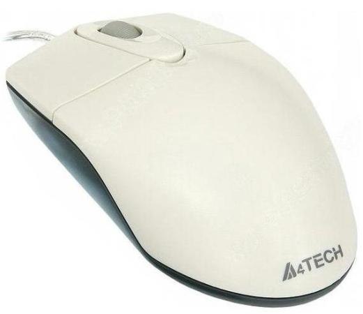 Мышь проводная A4TECH OP-720 белый USB f draeseke kanonische ratsel op 42