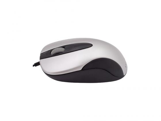 лучшая цена Мышь Oklick 151M серо-черный USB