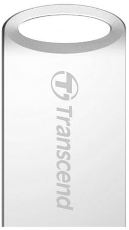 Флешка USB 16Gb Transcend JetFlash 510S TS16GJF510S серебристый флешка usb 16gb transcend jetflash 750 usb3 0 ts16gjf750k черный