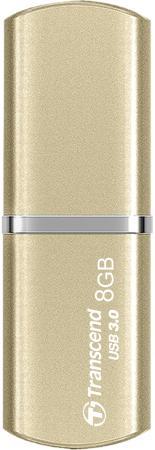 Флешка USB 8Gb Transcend Jetflash 820G TS8GJF820G золотистый флешка usb 8gb transcend ts8gjf520s серебристый