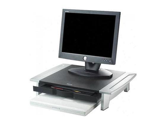 Подставка для монитора Fellowes Office Suites Monitor Riser 80311 до 36 кг серебристо-черный FS-8031101 monitor 19