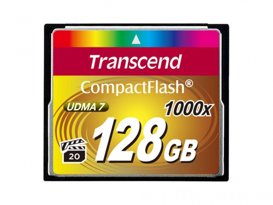 Карта памяти Compact Flash Card 128GB Transcend 1000x TS128GCF1000 batman bifold wallet dft 13010